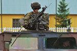 Военнослужащие армий США в Львовской области на Украине