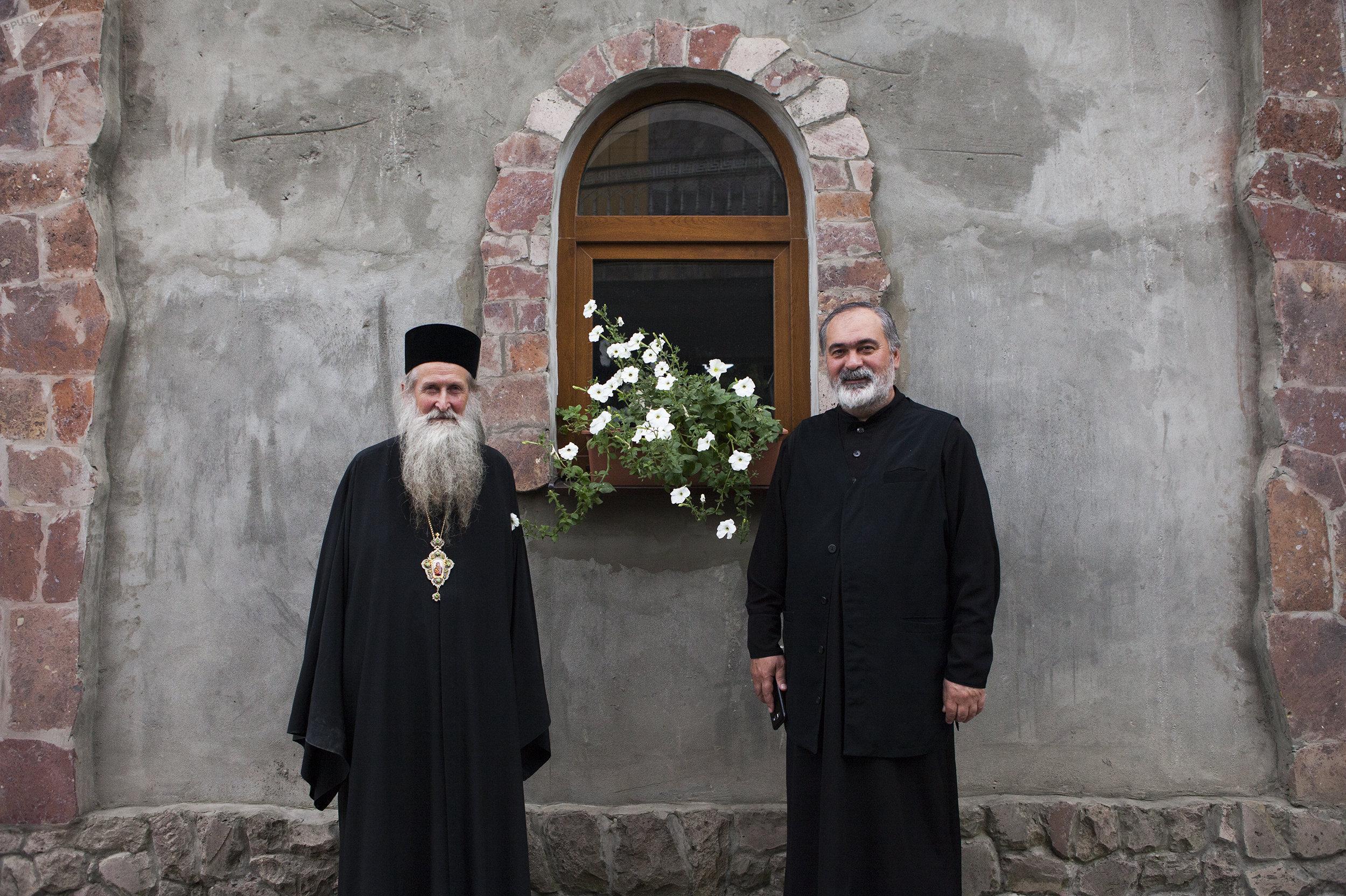 Епископ Амвросий и отец Иаков