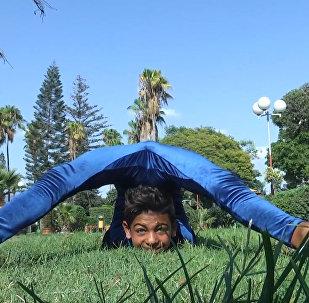 Невероятный трюк - как юный акробат готовится к рекорду Гиннеса