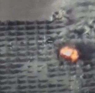 Минобороны опубликовало видео ударов по боевикам в Идлибе