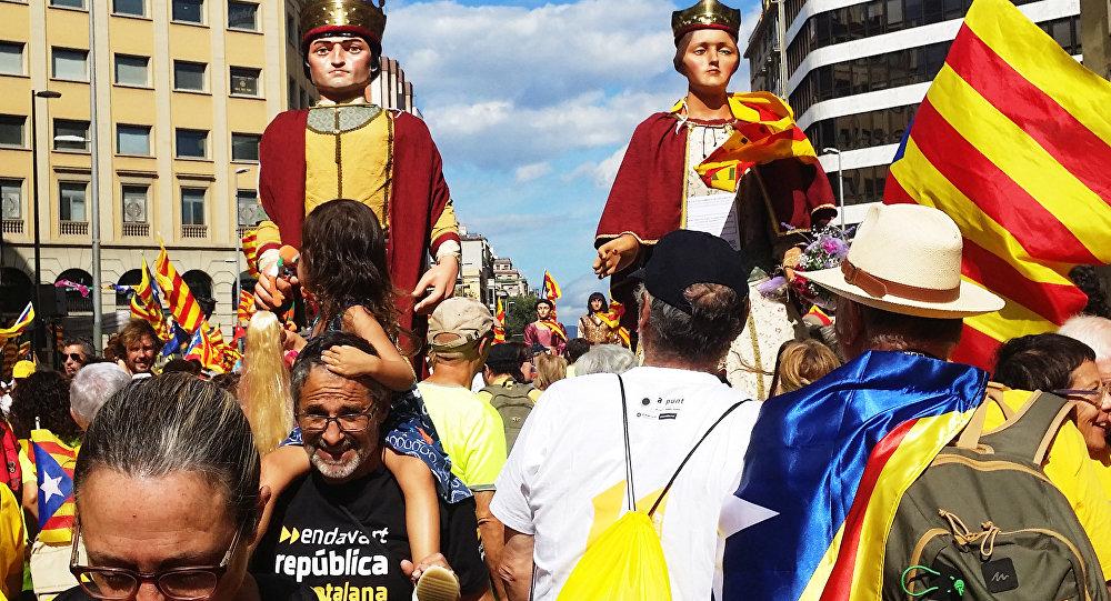 Москва выступила засоблюдение законов Испании вразрешении ситуации сКаталонией