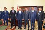 Президент принял делегацию из Южной Осетии