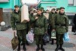 Призыв на военную службу в Омске