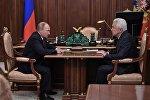 Президент РФ В. Путин провел встречу с вице-спикером Госдумы РФ В. Васильевым