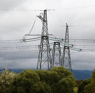 Высоковольтные линии электропередач