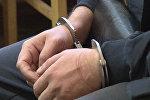 Обвиняемый в зале суда