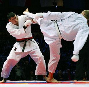 Каратэ сетокан. Матчевая встреча по боевым искусствам Битва Чемпионов IV