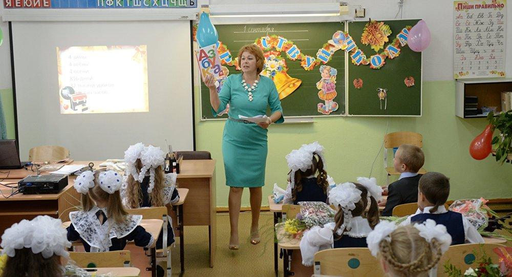 Проблему нехватки мест в русских школах планируется решить затри года