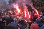 Около здания Рады в Киеве начался митинг против законов Порошенко