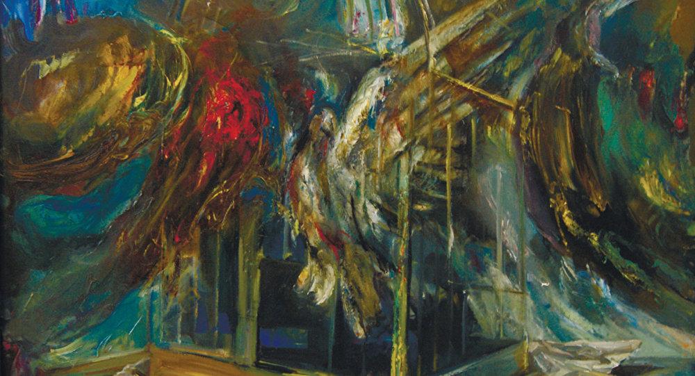 Картина художника Юрия Дзантиева