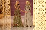 Показ линии одежды главного дизайнера Дома моды Firdaws Айшат Кадыровой в Грозном