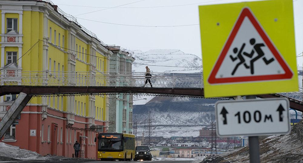 Города России. Норильск