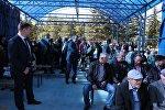 Встреча президента Анатолия Бибилова с жителями Дзауского района РЮО