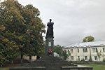 Памятник Коста Хетагурову в Цхинвале