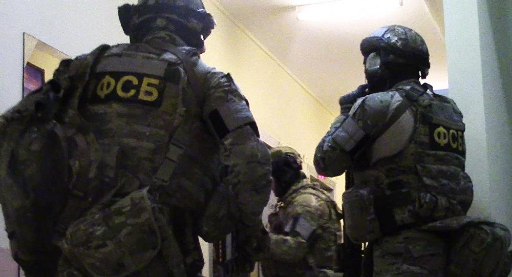 ФСБ России пресечена деятельность диверсионно-террористической группы