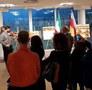 В итальянском городе Пезаро открылась выставка осетинских художников