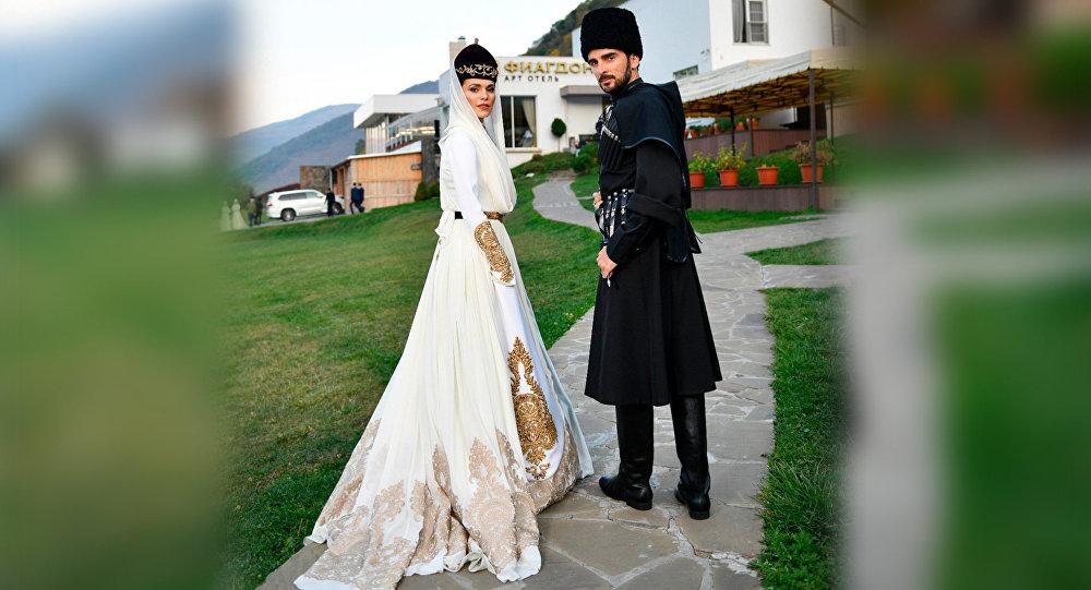 Певица Сати Казанова сыграла свадьбу в Осетии