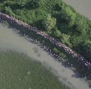 Число беженцев-рохинджа в Бангладеш достигло 582 тысячи человек