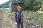 Житель села Хихат  Урузмаг Цховребов