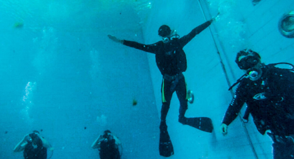 Североосетинские спасатели осваивают водолазное дело