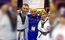 Спартак Газзаев и Сакинат Магомедова