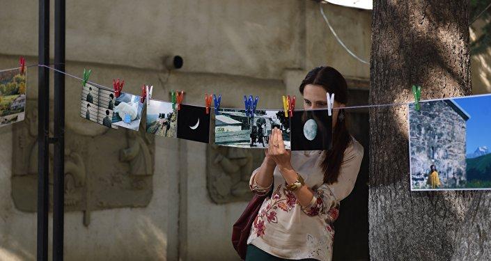 В Цхинвале прошла фотовыставка Сушка