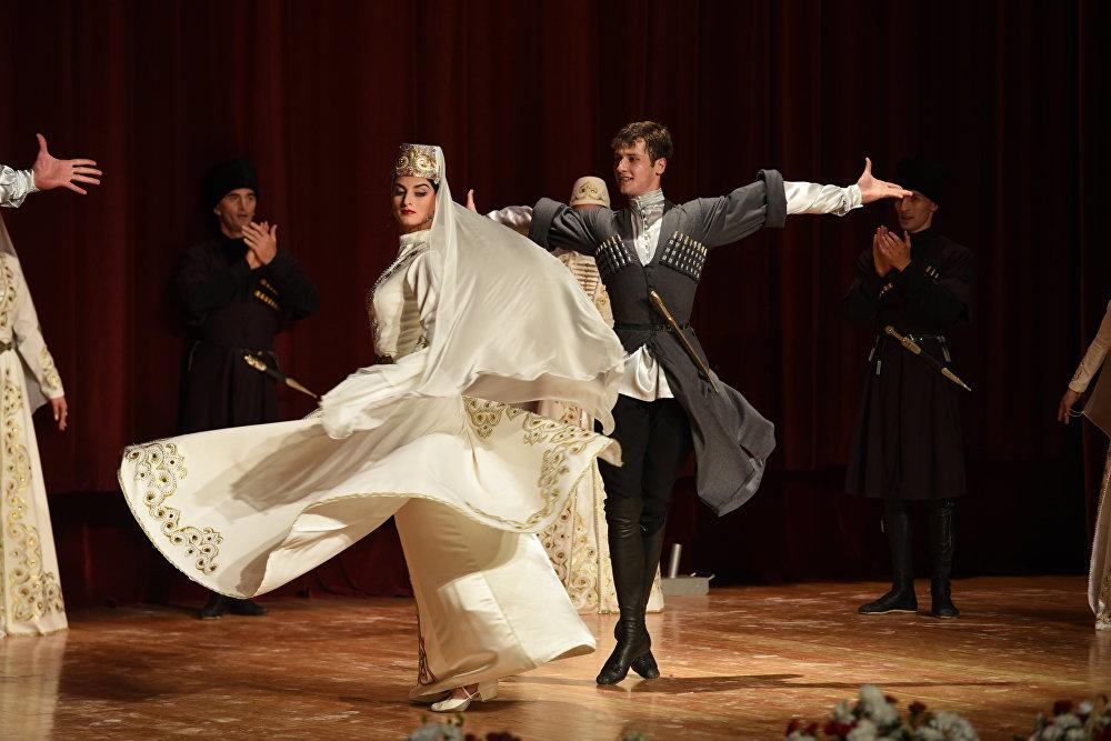 Концерт государственного ансамбля Симд