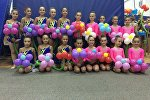 Гимнастки из Южной Осетии