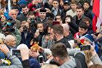 Мурат Гассиев вернулся домой в Осетию