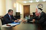 Прием граждан у президента Южной Осетии