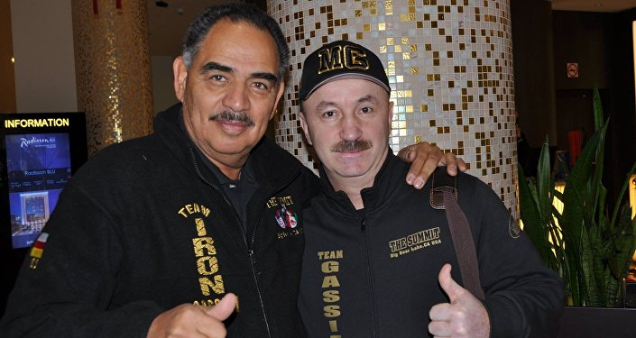Тренеры Мурата Гассиева Абель Санчес и Виталий Сланов