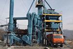 Как производят асфальт в Цхинвале: кадры с частного завода