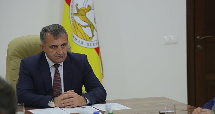 Совещание у президента Южной Осетии по вопросам кадрового резерва