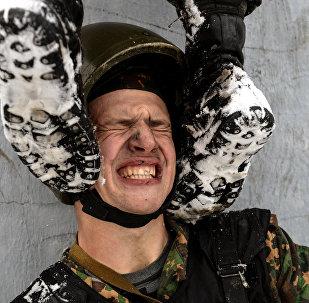 Всероссийские испытания на право ношения крапового берета среди военнослужащих внутренних войск МВД РФ