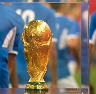 Представление кубка чемпионата мира 2018, архивное фото
