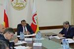 Совещание у президента РЮО линии  Инвестпрограммы