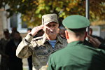 Президент Анатолий Бибилов поздравил с присягой сотрудников Государственной службы охраны Республики Южная Осетия