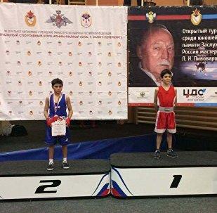 Боксер из Южной Осетии стал вторым на турнире в Петербурге