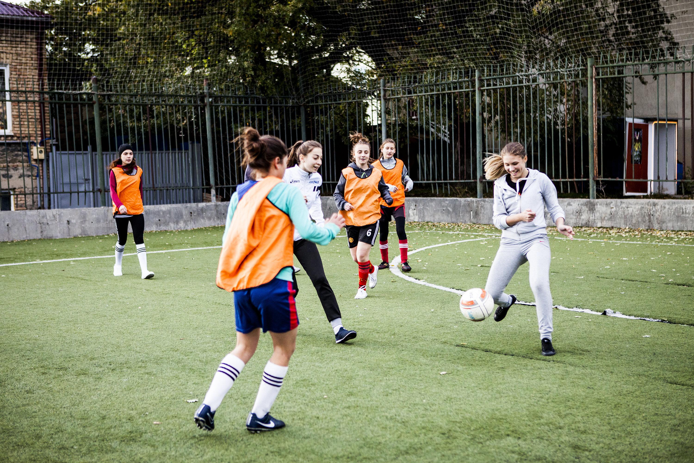 Женский футбол в Южной Осетии