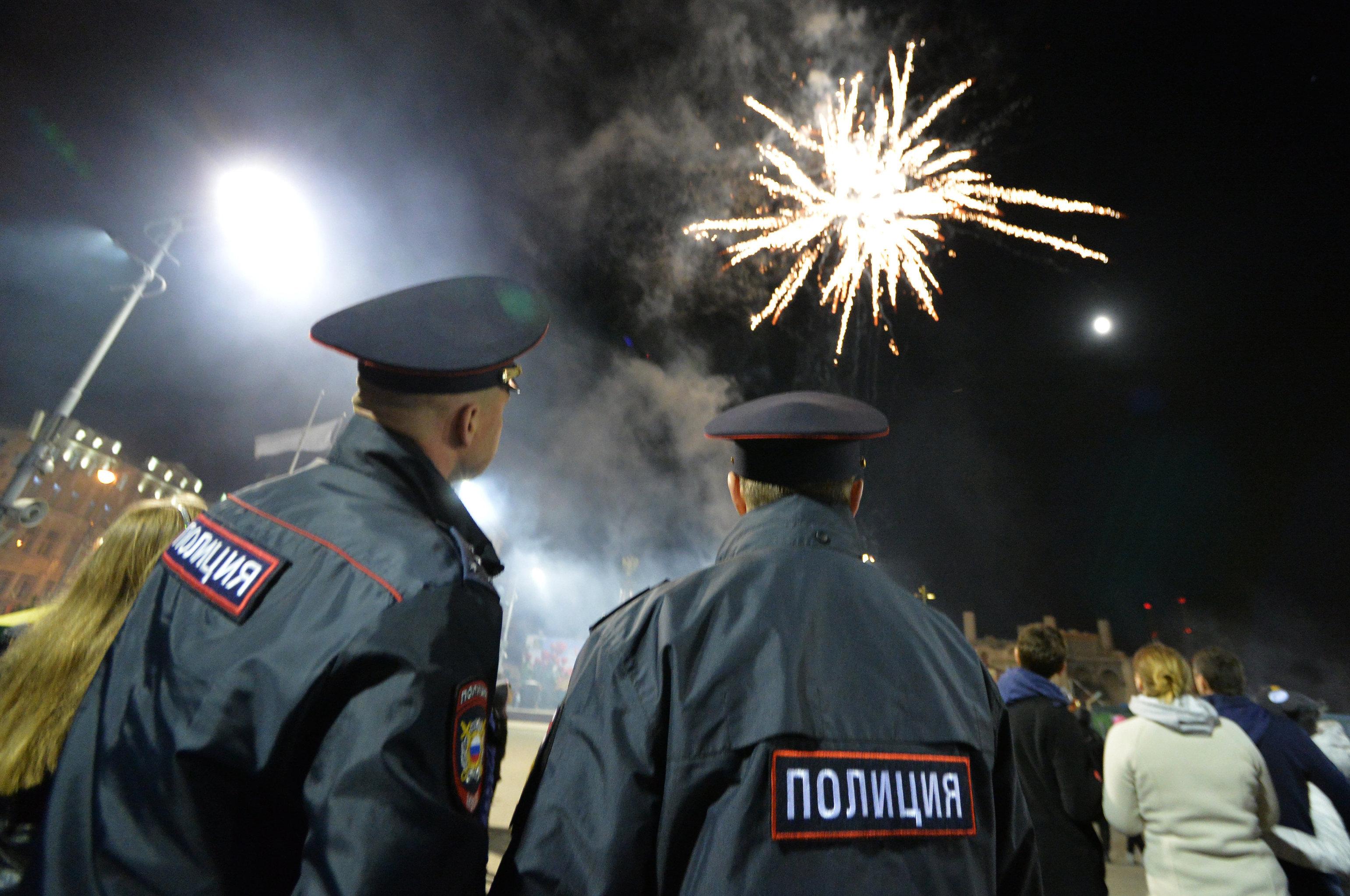 Празднование в городах России
