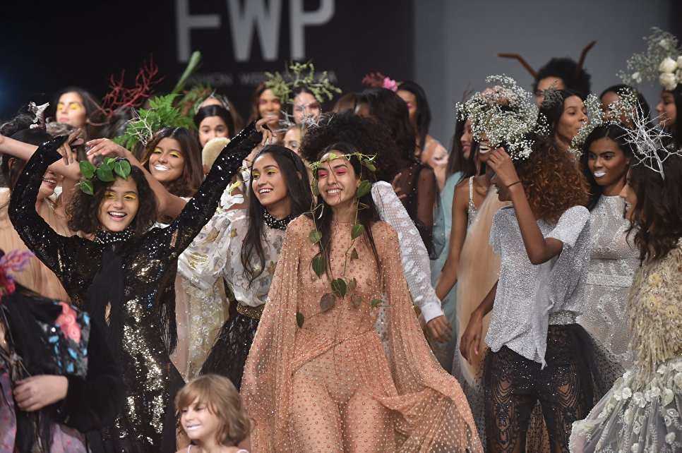 Пляжные коллекции на Panama Fashion Week
