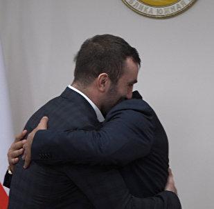 Встреча Гассиева в президентом Южной Осетии: Мурик волновался