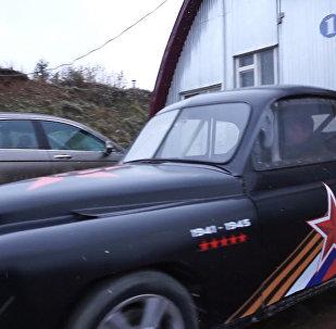Умелец сделал из Победы суперкар, разгоняющийся до 100 км/ч за 4 секунды