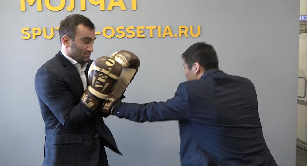Мурат Гассиев и Виталий Раднаев