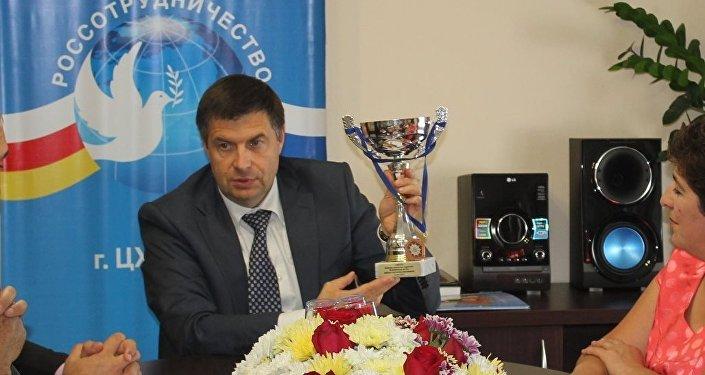 Глава Россотрудничества в Южной Осетии Михаил Степанов