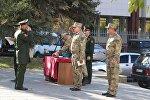 Лучшие разведчики Южной Осетии получили награды