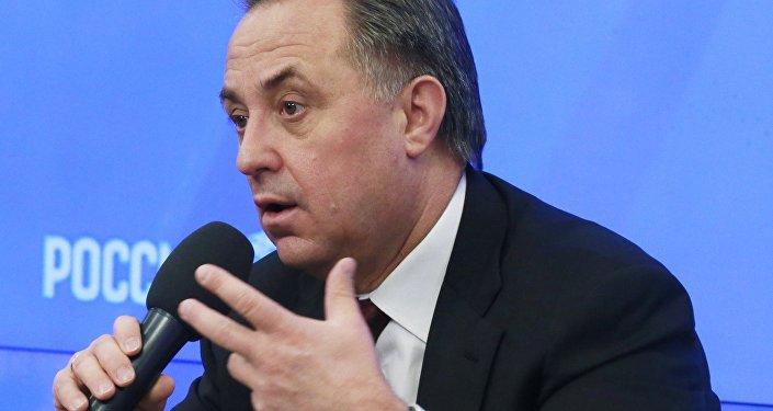 Пресс-конференция министра спорта РФ Виталия Мутко, посвященная ГТО