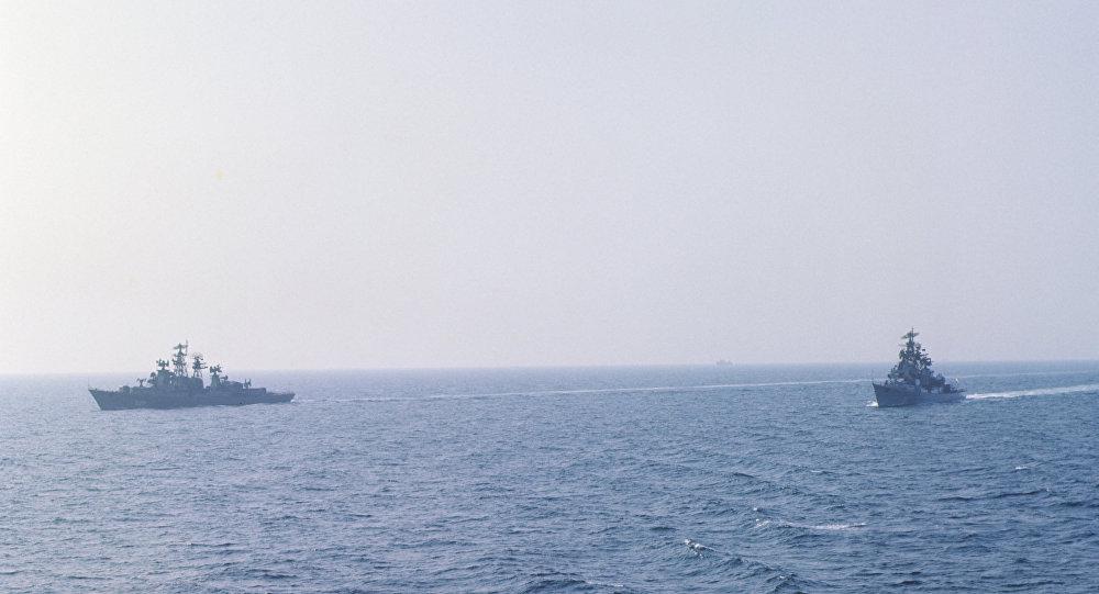 Военно-морские учения в акватории Черного моря