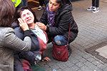 Полиция применила слезоточивый газ против курдских демонстрантов в Дюссельдорфе