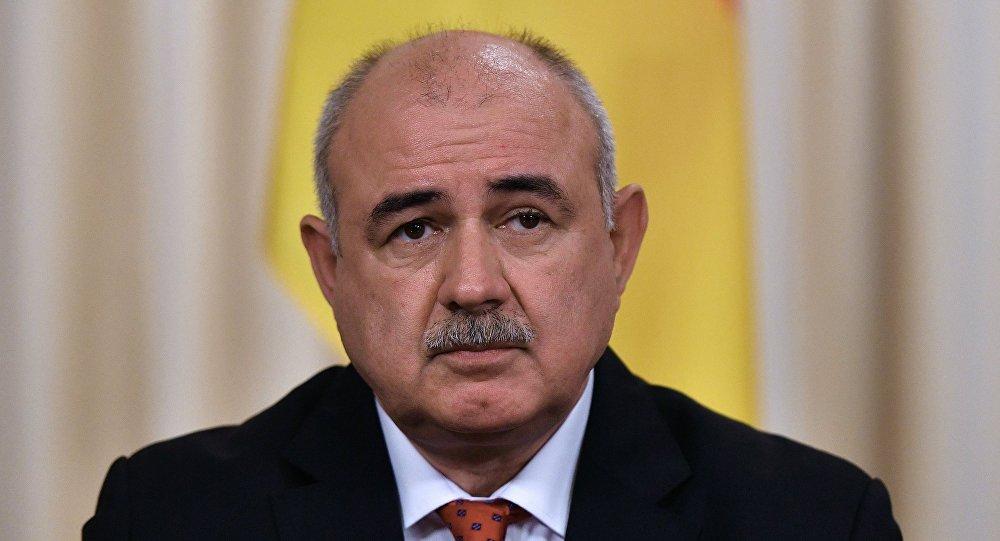 Министр иностранных дел Республики Южная Осетия Дмитрий Медоев